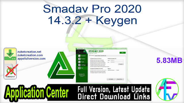 Smadav Pro 2020 14.3.2 + Keygen