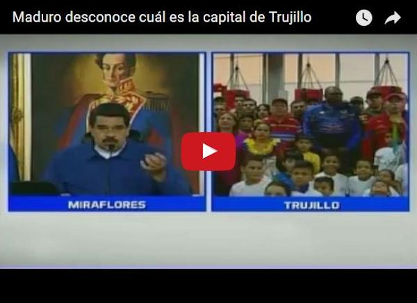 Maduro crea en cadena el nuevo estado Valera