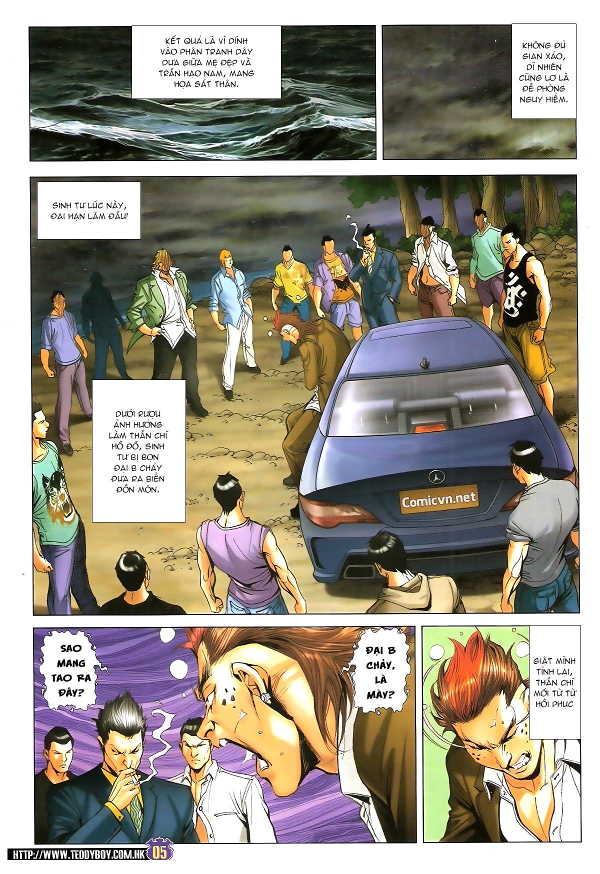 Người Trong Giang Hồ chapter 1647: sinh tư chung kết trang 4