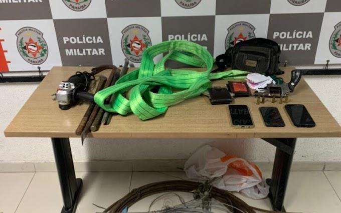 Grupo suspeito de realizar assaltos na zona sul de JP é preso pela PM