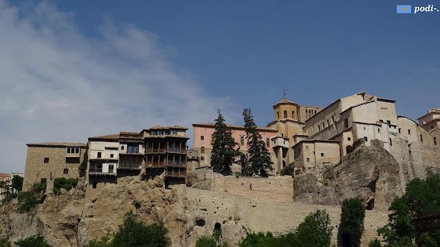 Cuenca: casas colgadas desde la hoz del Huécar