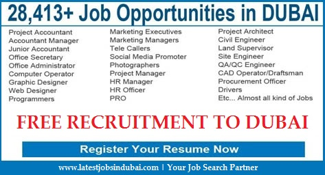 Latest Jobs in Dubai | WWW.FreshJobs.Pk