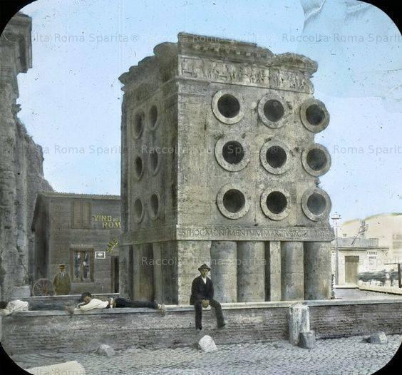 Il blog di fabrizio falconi la colossale porta maggiore for Porta maggiore