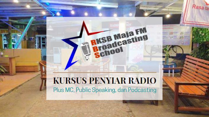 Kursus Penyiar Radio RKSB Maja FM Broadcasting School