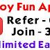 Injoy App – Refer Friends & Get ₹ 5 Paytm Per Refer [No Minimum Redeem]