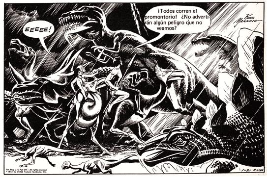 Tarzan de Russ Mannning - comic