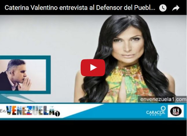 Entrevista COMPLETA de Caterina valentino a Tarek William Saab