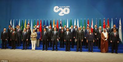 Ситуация в Украине – один из центральных вопросов встречи лидеров 20 крупнейших стран в Австралии.