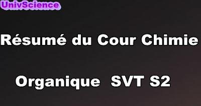 Résumé Du Cour Chimie Organique SVT S2 PDF