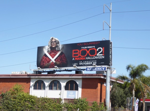 Boo 2 Madea Halloween film billboard