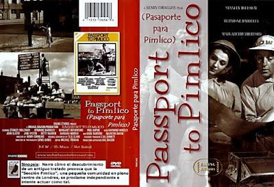 Carátula dvd: Pasaporte Para Pimlico (1949) Passport to Pimlico