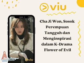 Cha Ji Won Perempuan Tangguh dalam K-Drama Flower of Evil