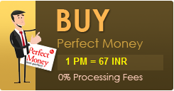 Buy perfect money with PayPal or Sell Perfect money with PayPal