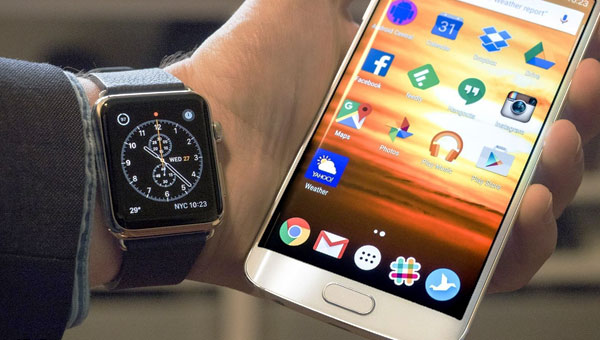 توصيل Apple Watch وهاتف Android