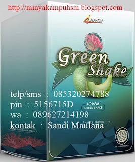 Green SHake dari jovem untuk diet/detoxsifikasi sehat dan aman
