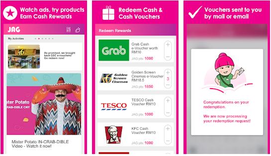 Cara Mendapatkan Uang Gratis Terbaru dari Aplikasi JAG Android