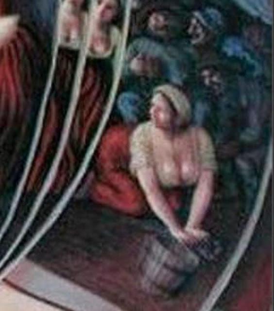 1. Η γυναίκα που τρίβει το πάτωμα