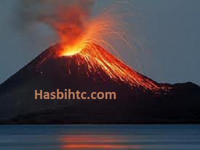 Gambar Gunung Krakatu