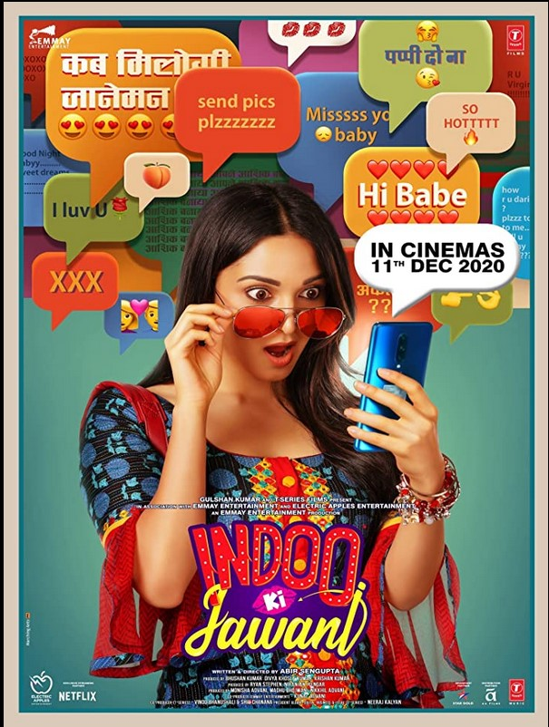 Indoo Ki Jawani 2020 x264 720p WebHD Esub Hindi THE GOPI SAHI