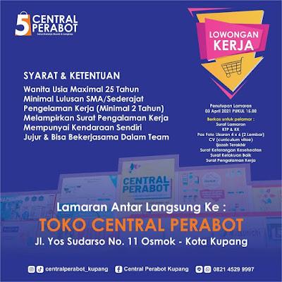 Lowongan Kerja Toko Central Perabot Kupang