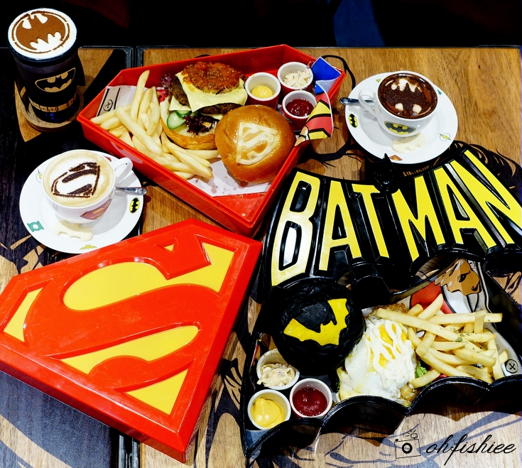 Image result for dc superheroes cafe genting