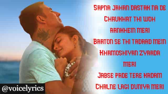 Sapna Jahan Lyrics for status