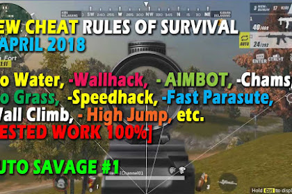 Cheat Rules of Survival Asparagin 9.0 Update 8,9,10 April 2018