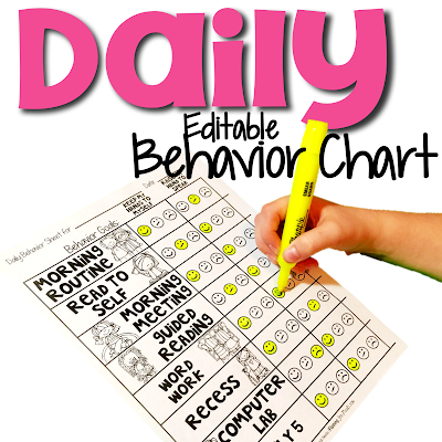 Daily goals sheet