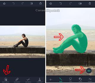 Aplikasi untuk menghapus objek foto
