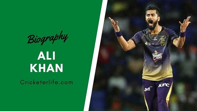 Ali Khan cricketer Profile, age, height, stats, wife, etc.
