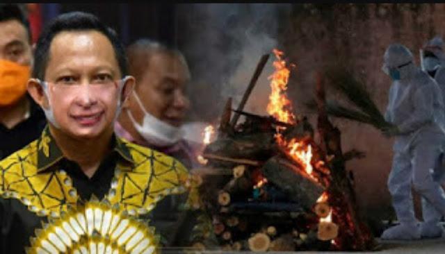 Kemendagri Soal Pernyataan Tito: Jenazah Covid Dibakar Agar Virusnya Mati