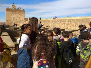 "Visita a ""La Alhambra"". Tercero de Primaria"