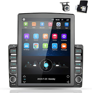 Nhopeew Android 9.0 2 Din GPS Car Stereo