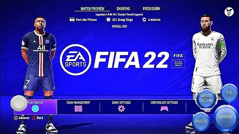 FIFA 21 Android Offline Camera PS5 APK+OBB Best Graphics Camera Ultra HD New menu face update