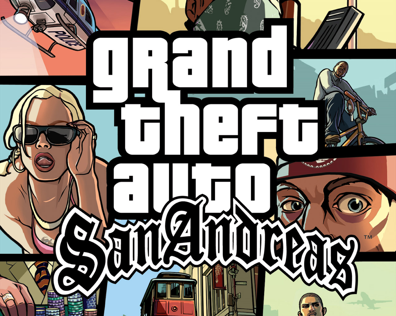 لعبة العالم المفتوح والاكشن الشهيرة GTA San Andreas نسخة ريباك مضغوطة بجميع الاضافات والتحديثات بحجم 3 جيجا + التورنت