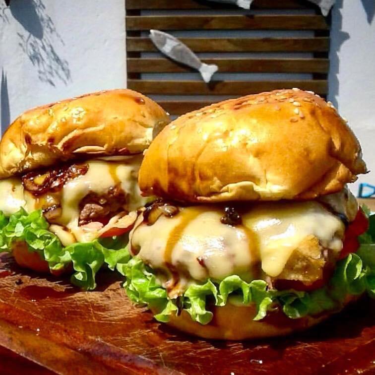 resepi burger homemade sedap