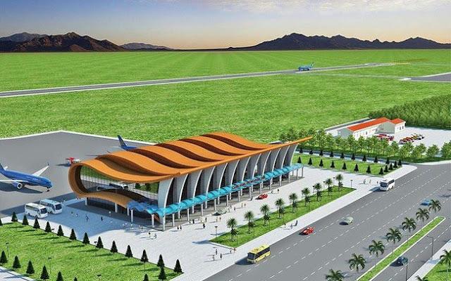 Phối cảnh sân bay Phan Thiết