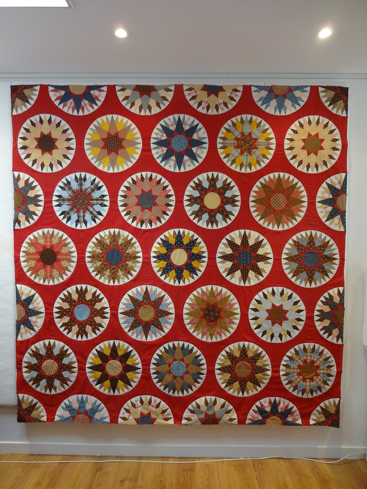 Workshops Mariner's Compass Quilt