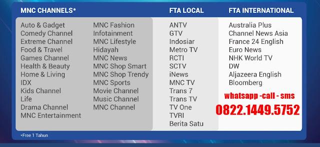 MNC Vision Gratis iuran selamanya Indovision Cirebon