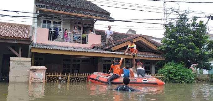 Ini Nyata, Bukan Syuting Sinetron Ikatan Banjir