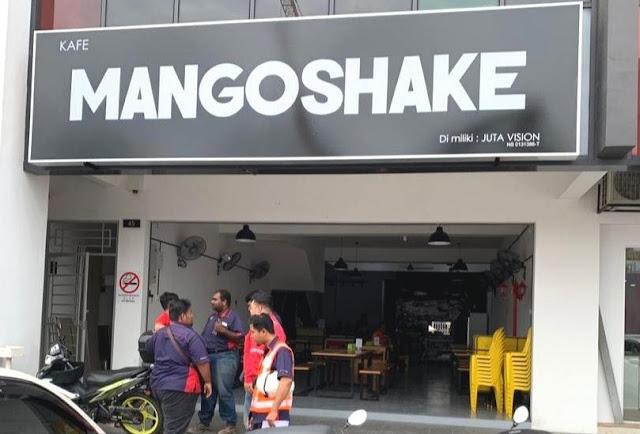 CAFE MANGOSHAKE SEMENYIH DISERBU PELANGGAN YANG GILA BUBBLE TEA