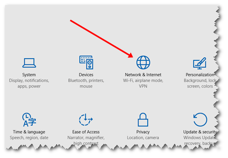 Windows 10 Updates off Netwrok and Settings option
