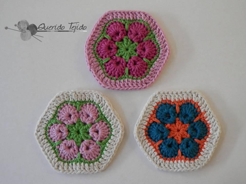 Querido Tejido: Crochet - Flor Africana
