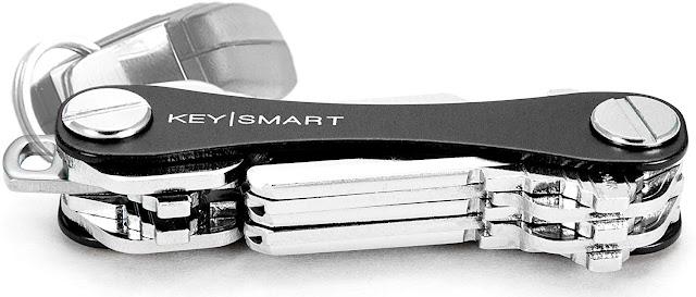 KeySmart Classic - Compact Key Holder and Keychain Organizer