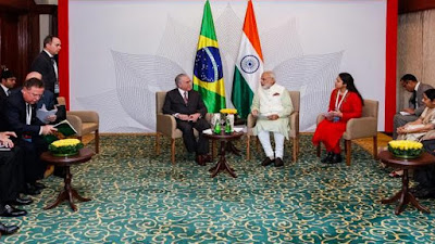 NEWS | Brazil, India Relaunch Partnership for Joint Presence in Global Markets