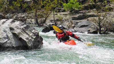 whitewater river kayak class