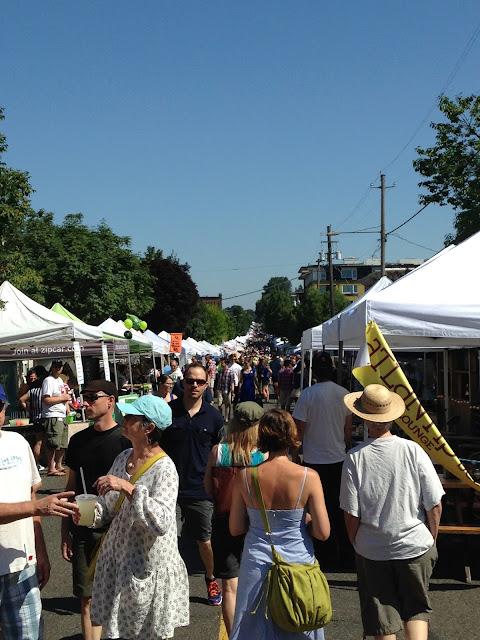 Portland OR Street Fair