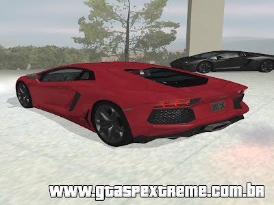 Lamborghini Aventador LP700-4 - Tron Dubai para GTA San Andreas
