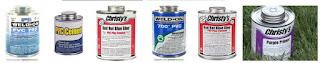 PVC glue is adhesive use for plastic like paralon etc.