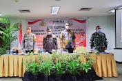 Divisi  HP3S Bawaslu Minut Bersama TNI dan Polri Rakor Terkait Pelanggaran Pemilu